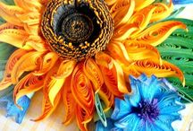 A Quilling / sunflowers
