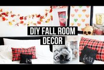 fall crafts & decor