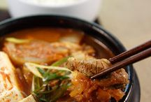 Let's eat - Korean food. / I went to Korea in 2012 and just looove the food. Bulgogi is the best! <3