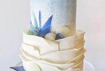 Aqua, sea cake