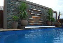 pool wall / pool feature walls