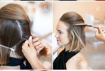 peinados con pelo corto/medio