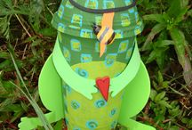 Reuse, Recycle Crafts... / by Mary Bowen