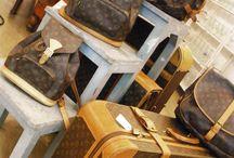 NOS ENCANTA LOUIS VUITTON VINTAGE / Los bolsos y las maletas de Louis Vuitton, originales con nº de serie. Algunos modelos que ya no se hacen; en BROCANTE
