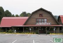 Commercial Gallery / Appalachian Log & Timber Homes has completed several large-scale commercial construction projects, from restaurants,  retail shops, office space to hotel accommodations.