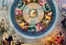 Calendari / Calendari RITMI DI LUNA. Moon Calendars RITMI DI LUNA