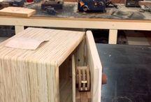 Lock boxes / Wood carpentry / by Ben Zaleski