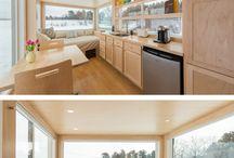 Domy a příbytky