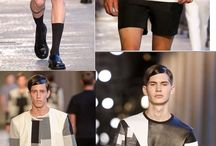 Menswear S/S 2014 - Milan  / by Forever Voguish / Relentlessly Flawless