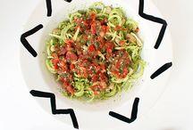 ♥♥♥♥ Spiralized Noodles ♥♥♥♥