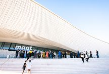 Lisbon / Dezeen magazine's Pinterest board for the new, creative architecture and design which keep springing up in Lisbon, like From Amanda Levete's MAAT museum to the city's first Architecture Triennale.
