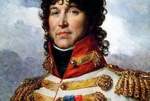 Napoléon : les Maréchaux / Napoléon crée le titre de Maréchal d'Empire en 1804;il nommera 26 maréchaux jusqu'à la fin de l'Empire (1815) voir aussi le tableau : Murat, un destin d'exception