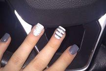 winter nails ❤