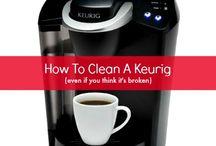 CLEANING A KEURIG