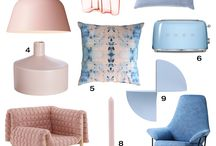 The Orchard: Rose Quartz & Serenity Blue - Pantone Colour of the Year 2016: Shabby Chic Vintage / #Pantone have announced their colours of the year for #2016 and here we show you how you can incorporate Serenity Blue and Rose Quartz into your home decor