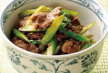 牛肉と料理