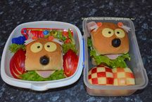 Kyaraben bento lunches / Bebento-kids bento lunch box collection/school lunches ideas / by Ariani Dewi