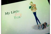 My little box, my little Paris et my little app. / Des surprises chaque mois et des bons plans.