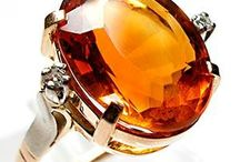 Citrine's for November / There is nothing more festive than the warm shades of November's birthstone: Citrine!