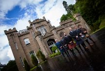 Drumtochty Castle wedding photography