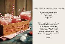 Cocktails to suit a 21st celebration!