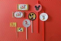 Festa Aniversário Mickey & Minie