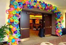Balloon Arches & Canopies / by Rochelle Price ~ Balloon Events Melbourne