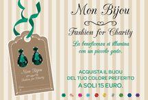 Mon Bijou - Fashion for Charity / Gli orecchini di Diffusione Tessile per GRADE Onlus. Riparte la collaborazione per la costruzione del CO-RE!