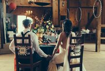 Tim Barton wedding party