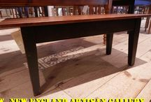 Accent Tables / Our assortment of unique coffee & end tables to add a bit of charm to your home.
