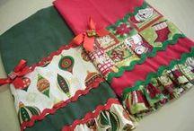 toalha de LAVABO Natal