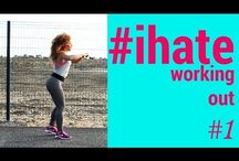2ACTIVELAB #ihateworkingout / It is a motivation workout series for all of us who have to work out but to be honest don't want to!Give it a try!!!