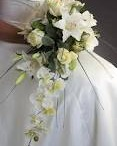 white wedding flowers / by Toni Smith