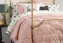 Millie's Bedroom ideas Pink Gold Black Room
