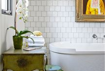 Dreamy Wash Rooms / Because your bathroom should make you feel cleaner.