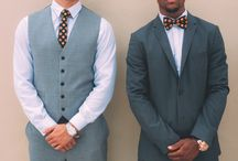 Ties and Bowties / This board consists of models wearing our skinny ties and bowties.