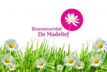 Logo huisstijl eigen bloemenwinkel