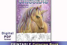 PDF coloring books