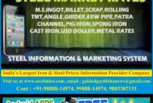 Steel and Iron Scrap Price In India / Current Steel and Iron Scrap Rates In India,Ingot Price In India.Iron ore,Wire Rod Prices In India.More Other Products Prices In India Available Here.