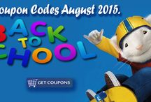Back To School 2015 / Back to School Coupon Code 2015