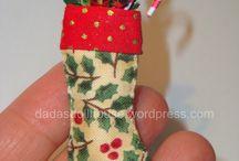 Новый год / Рождество (миниатюра) / Идеи и МК  для празлника