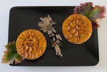 Passe-plats entre amis #4 - Les couleurs de l'automne dans nos assiettes / Les couleurs de l'automne dans nos assiettes