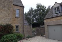 Natural stone large extension / Large single storey extension with mezzanine gallery