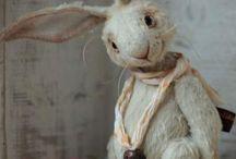 Cloth Rabbits