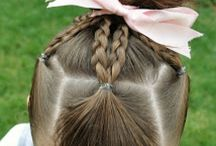 Little girl hairstyles / by Lindsay Shoaf