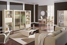Salones contemporáneos / Mobiliario para salón contemporáneo
