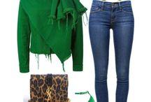 Outfits color mezclilla
