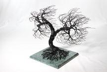 Treeative Handmade / Unique handmade wire art http://treeativehandmade.com/