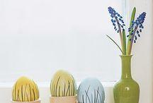 springy. / spring decor. easter. / by Jennifer {StudioJRU}