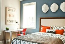 Bedroom / Colours and print inspiration